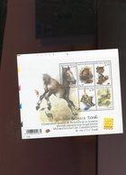 Belgie BL116 TYPE B 'snijblokken Links Met Drukdatum' 3319/23 Belgica 2006 Horse Dog Cat Bird Fish - Blocs 1962-....