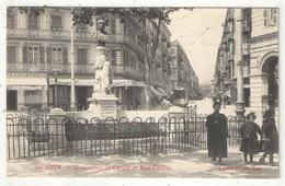 06 - NICE - Monument De Carnot Et Rue Cassini - Picard 59 - Monuments, édifices