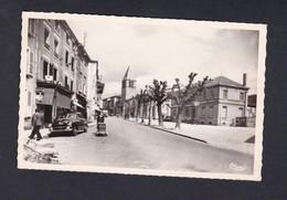 Cours (69) Rue Georges Clemenceau ( Animée Voiture Landau ... Combier) - Cours-la-Ville