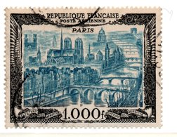 France /  Poste Aérienne /  N 29 / 1000 Francs Noir Et Brun / Oblitéré - Airmail