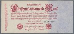 P92/Ro91b/DEU-103b  500 000 Mark  Impression Privée ** UNC ** - 1918-1933: Weimarer Republik