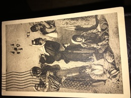 "Vintage Syrian Postcard. See Photos. Postcard Turcomans Women And Children. SYRIA No 76 Thevenet Edit"" - Syrië"