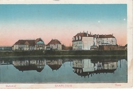 20 / 1 / 258. -     SAARLOUIS   ( SARRE). LA  GARE - Saarbruecken