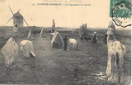 56 ST PIERRE DE QUIBERON LES ALIGNEMENTS DU MOULIA - Frankreich