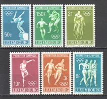 E938 ONLY ONE IN STOCK LUXEMBOURG OLYMPIC GAMES MEXICO 1968 1SET MNH - Zomer 1968: Mexico-City