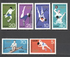 E940 ONLY ONE IN STOCK GERMANY OLYMPIC GAMES MEXICO 1968 1SET MNH - Zomer 1968: Mexico-City