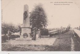 Sillé Le Philippe  Monument De Chanteloup - France