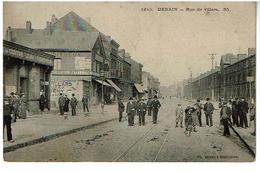 DENAIN- Rue De Villars-Ed Delsart-Voyagee - Denain