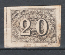Brasile 1850 Y.T.12 O/Used VF/F - Usati