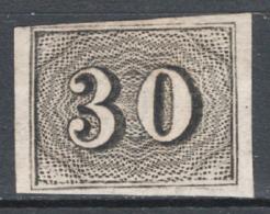 Brasile 1850 Y.T.13 (*)/MNG VF/F - Gebraucht