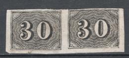 Brasile 1850 Y.T.13 Coppia/pair (*)/MNG VF/F - Gebraucht