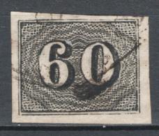 Brasile 1850 Y.T.14 O/Used VF/F - Usati