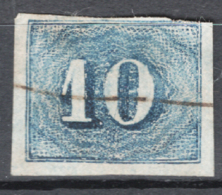 Brasile 1854 Y.T.19 O/Used VF/F - Gebraucht
