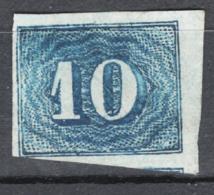 Brasile 1854 Y.T.19 O/Used VF/F - Usati