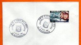 MAURY N° 1523   NUNGESSER ET COLI   ( Cachet Concordant ) 1967 40 BISCAROSSE    Lettre Entière N° CD 252 - 1961-....