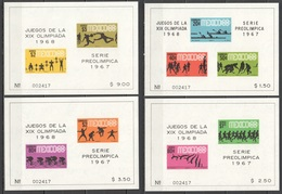 E951 ONLY ONE IN STOCK MEXICO OLYMPIC GAMES MEXICO 1968 4BL MNH - Zomer 1968: Mexico-City