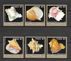 Mozambique 2002 Animals - Marine Life - Shells #2 MNH - Meereswelt
