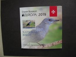 Malta  MH   Europa  Cept   Nationale Vögel   2019    ** - 2019