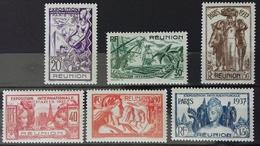 Série De Timbres Neufs **, Numéro 149 à 154. - Isola Di Rèunion (1852-1975)