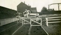 France Racing Club De Roubaix Championnat Du Nord Course Haies Ancienne Photo 1924 - Sporten
