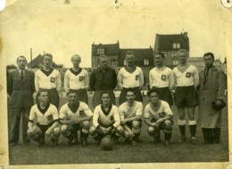 France Lille LOSC Equipe Football Ancienne Photo 1930's - Sports