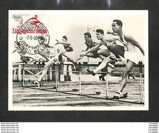 CONGO BELGE - BELGISCH CONGO - Carte MAXIMUM 1960 - PRO JUVENTUTE - SAUT DE HAIES - Belgisch-Kongo