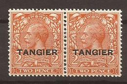 MAROC - Bureau Anglais 1927 - N° 71 Paire NEUF XX MNH - Morocco Agencies / Tangier (...-1958)