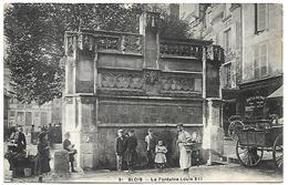 Blois:La Fontaine Louis XII - Blois