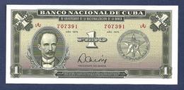 Cuba 1 Peso 1975 P106a Commemorative SC UNC - Cuba