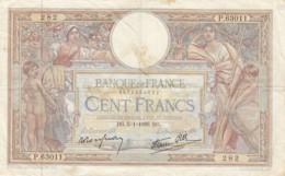 Billet 100 F L. O. Merson Du 5-1-1939 FAY 25.38 Alph. P.63011 - 1871-1952 Antichi Franchi Circolanti Nel XX Secolo