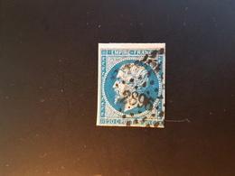 N°14, 20 Cts Bleu, PC 2896, Sierentz , Haut Rhin. - 1849-1876: Période Classique