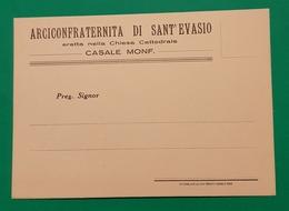 Cartolina Arciconfraternita Di Sant' Evasio - Casale Monferrato - 1959 - Cartoline