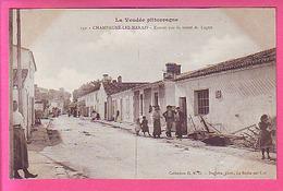CHAMPAGNE LES MARAIS ENTREE PAR LA ROUTE DE LUCON  ANIMATION CP NEUVE - Other Municipalities