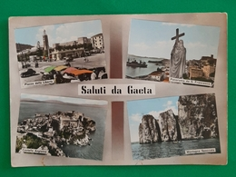 Cartolina Saluti Da Gaeta - Montagna Spaccata - Castello Angioino - 1979 - Latina