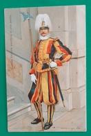Cartolina Guardia Svizzera Pontificia In Alta Tenuta - 1960 - Ohne Zuordnung