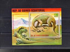 GUINEE EQUATORIALE MICHEL BLOC 304**SUR LES ANIMAUX PREHISTORIQUES  DIPLODOCUS - Guinée Equatoriale