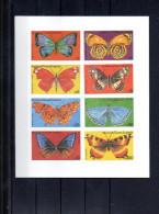 GUINEE EQUATORIALE MICHEL 1197/1204**ND SUR LES PAPILLONS - Guinea Ecuatorial
