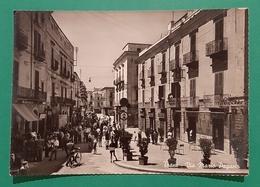 Cartolina Trani - Via Mario Pagano - 1953 - Brindisi