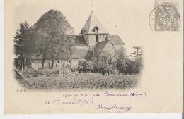 MAIZY. CPA Voyagée En 1903 Eglise De Maizy Par Beaurieux - France