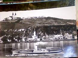 AUSTRIA Wallfahrtskirche Maria Taferl Mit Marbach A.d. Donau - Dampfer  VB1956 HJ3912 - Maria Taferl