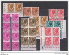 REPUBBLICA  VARIETA':  1955/61  TURRITA  ST. I°  O. -  LOTTO  34  VAL. N. -  C.E.I. 752//76I - Variedades Y Curiosidades