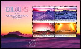 Australia (A.A.T.) 2015: Foglietto Colori Del Territorio Antartico / Colours Of The A.A.T. S/S ** - Unused Stamps
