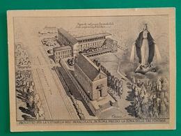 Cartolina Progetto Per La Cittadella Dell' Immacolata.. - 1960 - Ohne Zuordnung