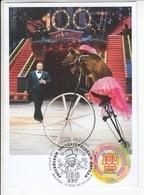2786 Bl286 Mih 2565 Russia 10 2019 Maximum Card 1 Russian State Circus - Maximumkarten