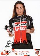 Cyclisme, Alana Castrique, 2020, Signée - Cyclisme