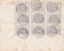 Enveloppe Bloc De 9 Timbres TR29 Marche - Sonstige