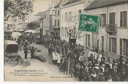 NOGENT SUR SEINE - Funérailles Des Victimes De La Catastrophe De La Malterie - 4 Novembre 1911 - Nogent-sur-Seine