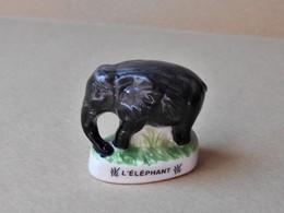 Fève Atlas Les Animaux Sauvages * L'éléphant (T 1036) - Dieren
