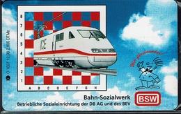 Schach Chess Ajedrez échecs - Telefonkarte Deutschland - Germany - BSW (1996) - Spelletjes