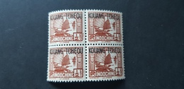 Kouang Tcheou Yvert 100** Bloc De 4 - Kouang-Tcheou (1906-1945)